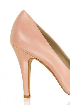 Noe | Leren pumps Nicole | roze
