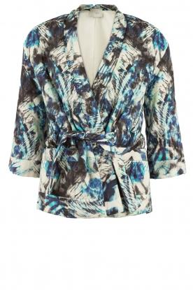 IRO | Kimono jas Fayra | blauw