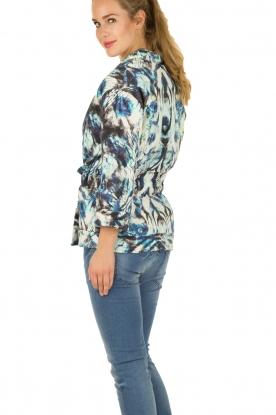 Kimono coat Fayra | blue