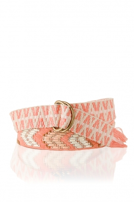 Hoss Intropia | Riem Indian | roze