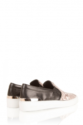 Leather slip-ons Kyle | natural