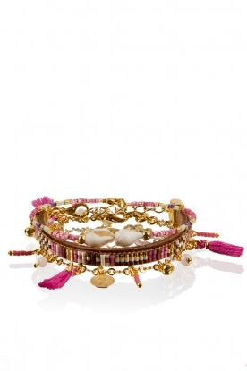 Bracelet set Tahiti | pink