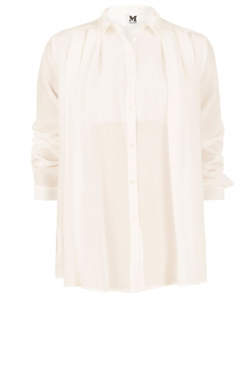 Silk blouse Diana | off-white