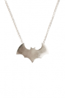 Touchable |  Gold necklace Batman | white gold