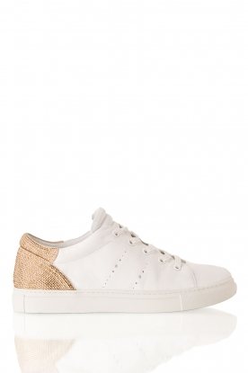 Leather sneakers Deportivo | offwhite-gold