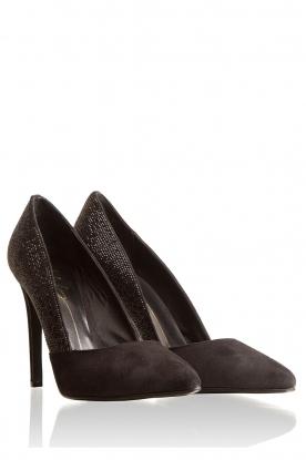 Suede pumps Isbel | black