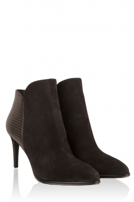 Leather ankle boots Maribelle | back