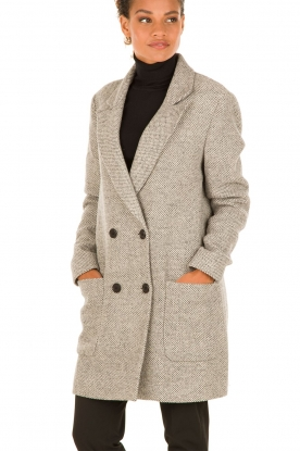 Coat Printemps | grey