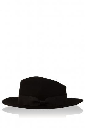 Aaiko | Wollen hoed Florence | zwart