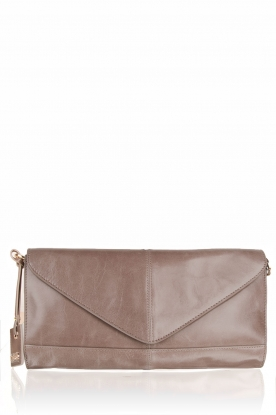 Leather clutch Divine | brown