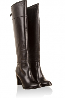 Leather boots Livio | black