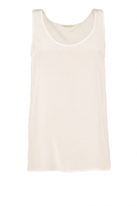 Silk top Pierre | white