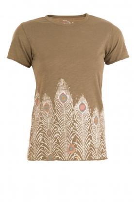T-shirt Terry | groen