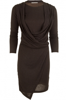 DAY Birger et Mikkelsen |  Dress Barbara | dark grey
