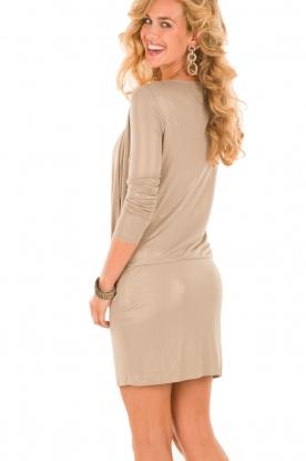 Patrizia Pepe | Mini jurk Felice | goud