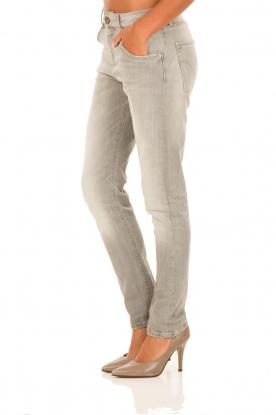Manila Grace | Boyfriend jeans Fabio | lichtgrijs