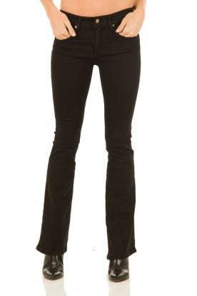 Flared jeans Melrose lengtemaat 34 | zwart