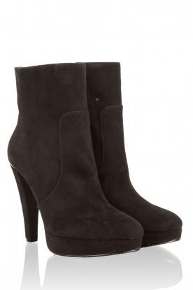 Suede ankle boots Georgie | black