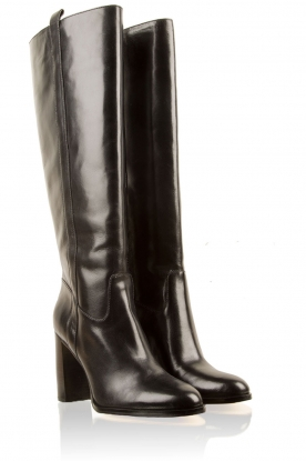 Leather boots Shaw | black