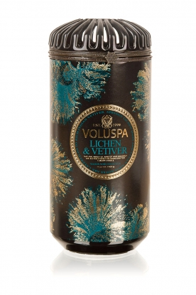Voluspa | Geurkaars Ceramica Lichen vetiver | multi