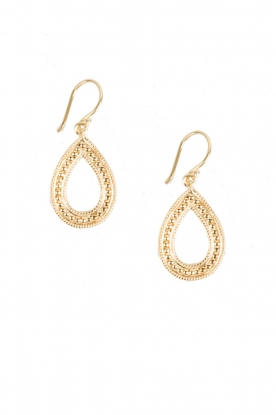 22k gold plated earrings Dancing in the Rain | gold