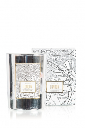 Victorian Candles | Geurkaars London | zilver