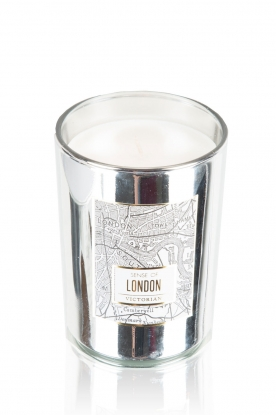Victorian Candles |  Scented candle London | silver