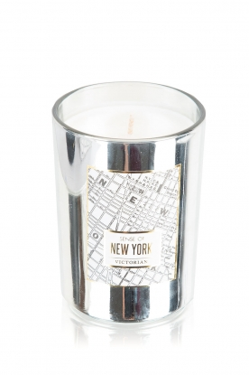 Victorian Candles | Geurkaars New York | zilver