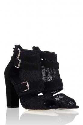 Su�de sandals Laredo | black