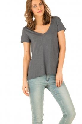 American Vintage | T-shirt Jacksonville | grijs