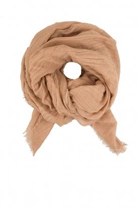 American Vintage | Linnen sjaal Amarillo | camel