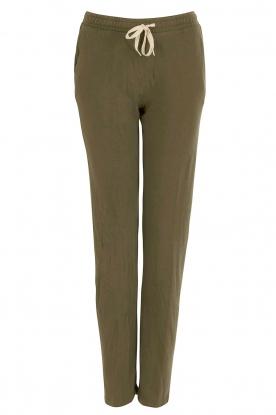 American Vintage | Sweatpants Japonstate | Groen