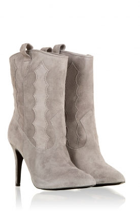 Suede boots Rebecca | grey