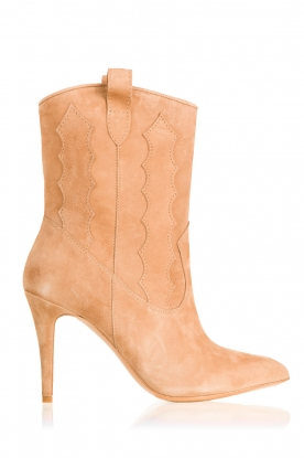 Suede boots Rebecca | camel