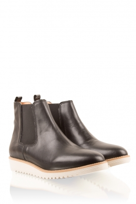 Leather shoes Pip | black
