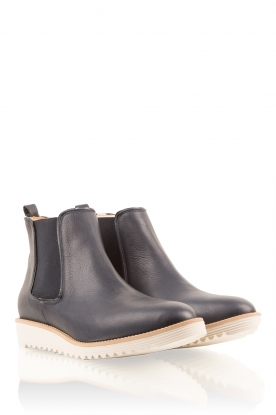 Leather shoes Pip | dark blue