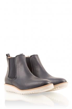 Maluo | Leren schoenen Pip | donkerblauw