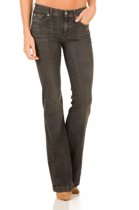 7 For All Mankind | Flared jeans Charlize | zwart