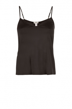 Top Satin Deluxe | black