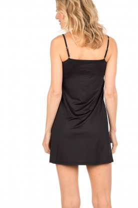 Slip dress Satin Deluxe | black