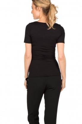 T-shirt soft touch | black
