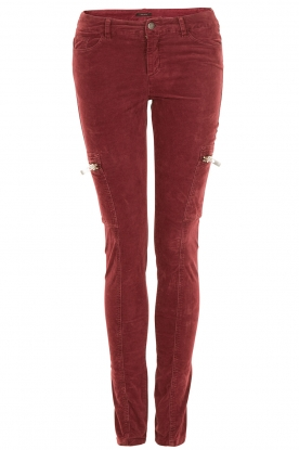 Pants Grenat | rood