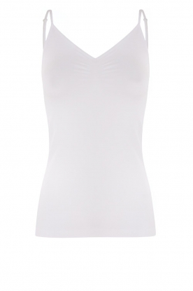 CC Heart | Seamless top Sem | white