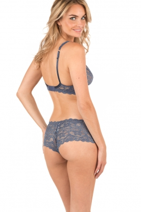 Lace bra soft-cup moments | indigo