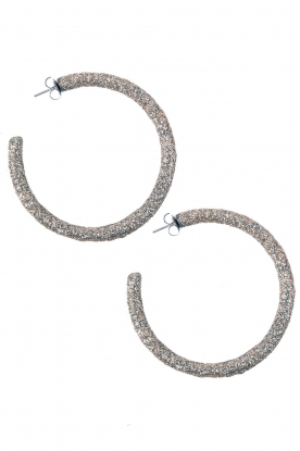 Earrings Openhoop | silver