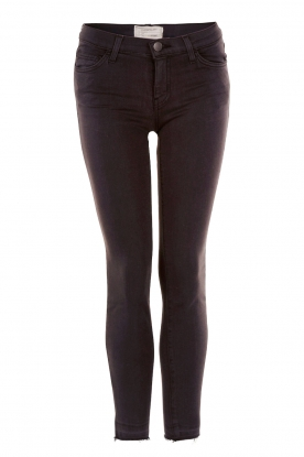 Current/Elliott |  Slim-fit kinny jeans The stiletto | black