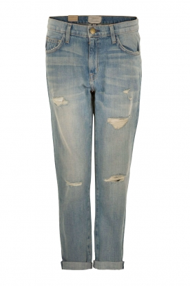 Current/Elliott | Ripped Boyfriend jeans The Fling | blauw