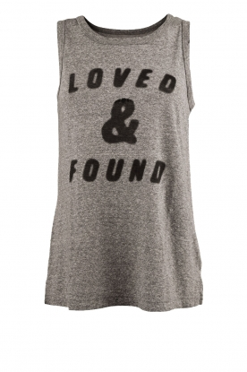 Current/Elliott |  Top The Muscle Tee | grey
