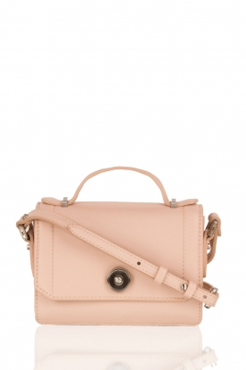 Faux-leather mini tas Camunda | roze