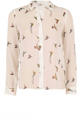 IKKS | Blouse Birds | wit